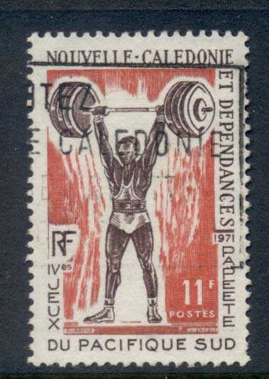 New Caledonia 1971 South Pacific Games, Weight Lifting FU