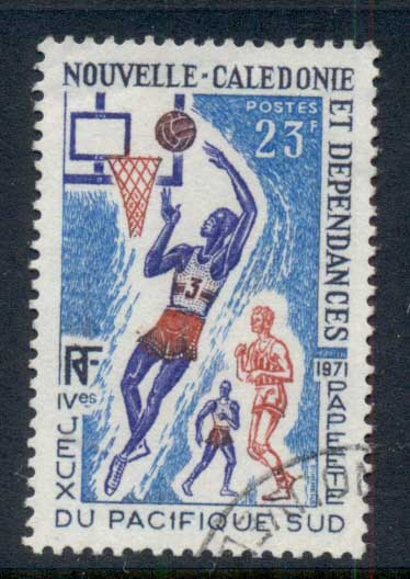 New Caledonia 1971 South Pacific Games, Basketball FU
