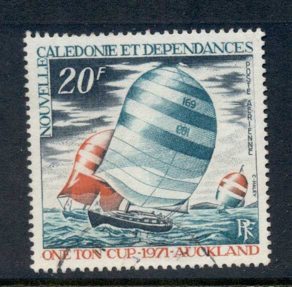 New Caledonia 1971 One Ton Yacht Race FU