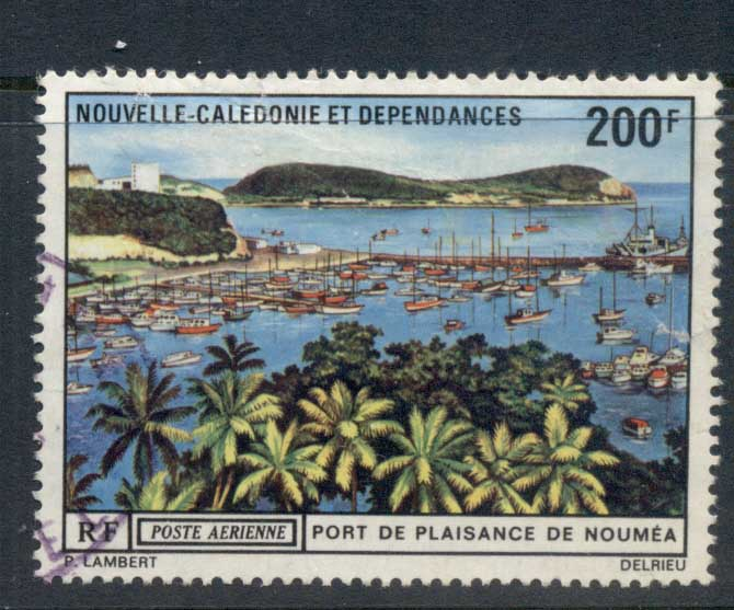 New Caledonia 1971 Port de Plaisance FU