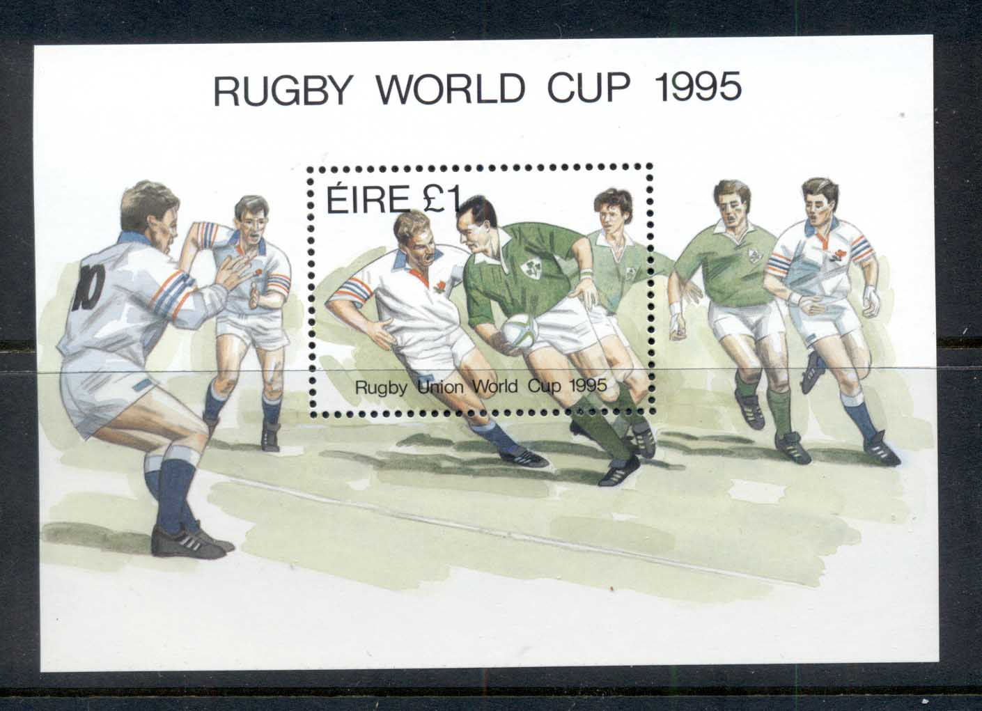 Ireland 1995 Rugby World Cup MS MUH - Click Image to Close