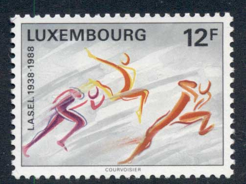 Luxembourg 1988 Student Sports MUH