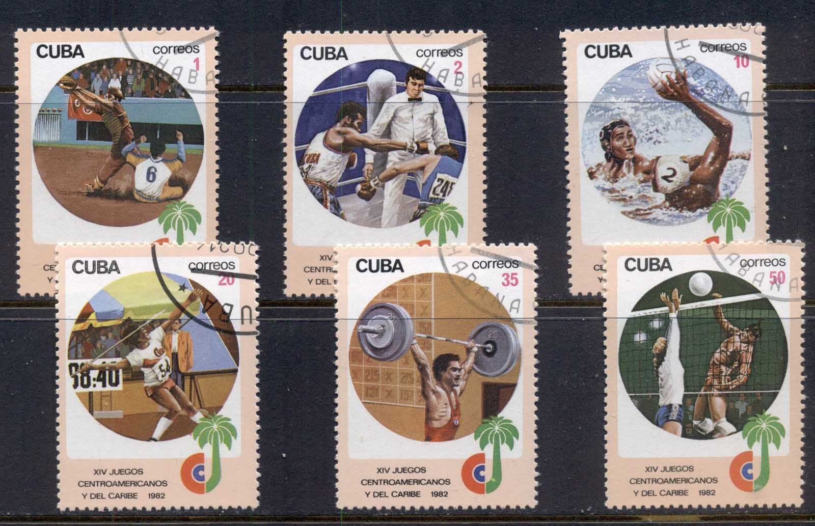 Caribbean Is 1982 Central American & Caribbean games CTO