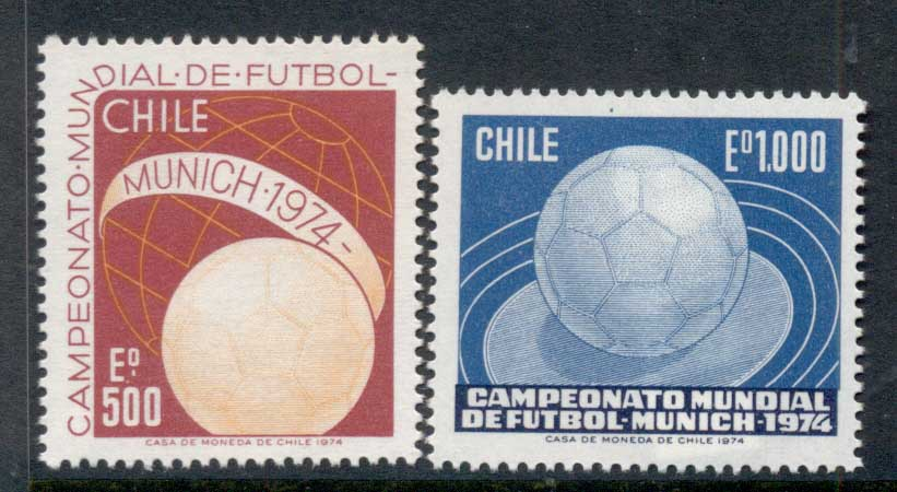 Chile 1974 World Cup Soccer Munich MUH