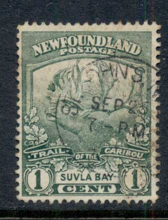 Newfoundland 1919 Trail of the Caribou 1c FU