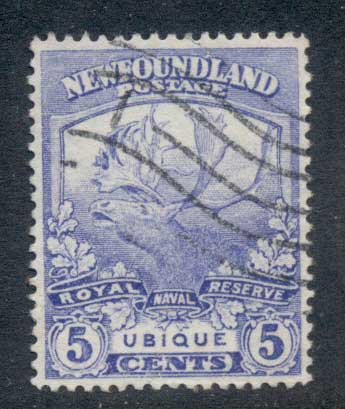 Newfoundland 1919 Trail of the Caribou 5c FU