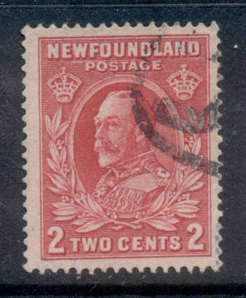 Newfoundland 1932-37 Pictorials 2c red FU