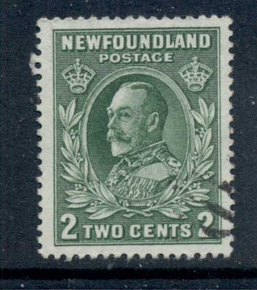 Newfoundland 1932-37 Pictorials 2c greenFU