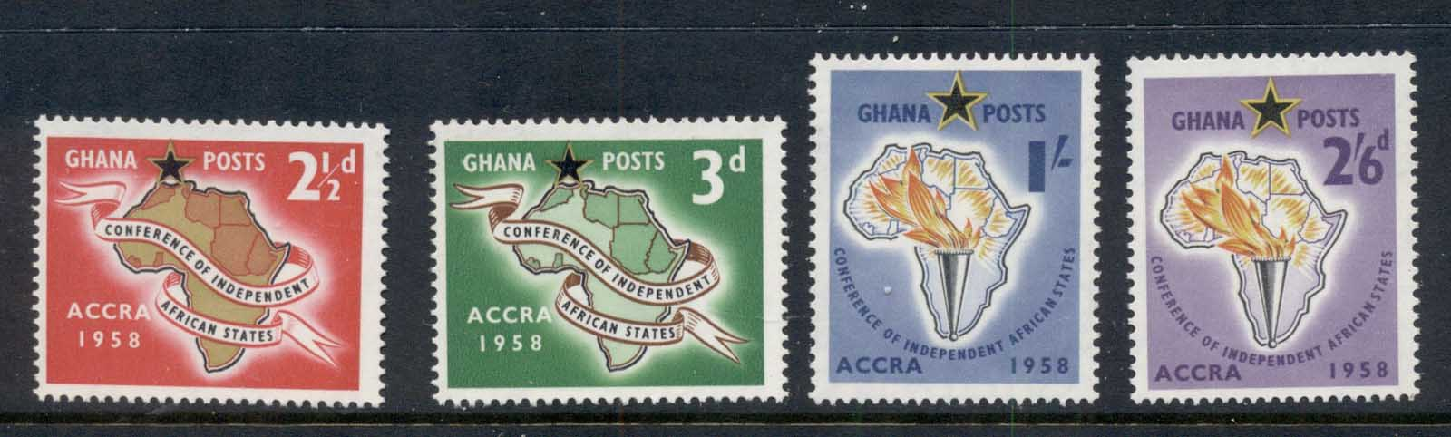 Ghana 1958 Independent African States Conference MUH