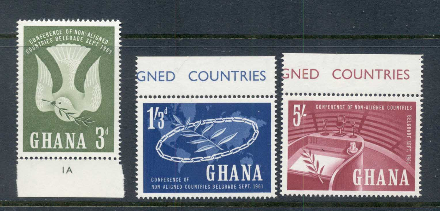 Ghana 1961 Conference of Non Aligned Nations MUH