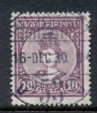 Hungary 1916 Queen Zita 10f FU