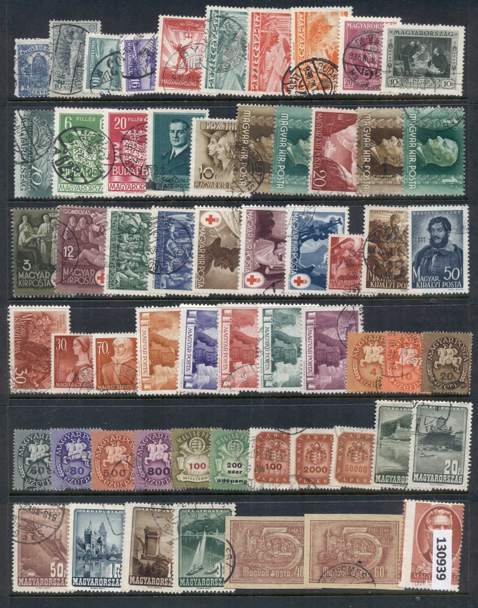 Hungary 1930-40's Assorted Oddments FU