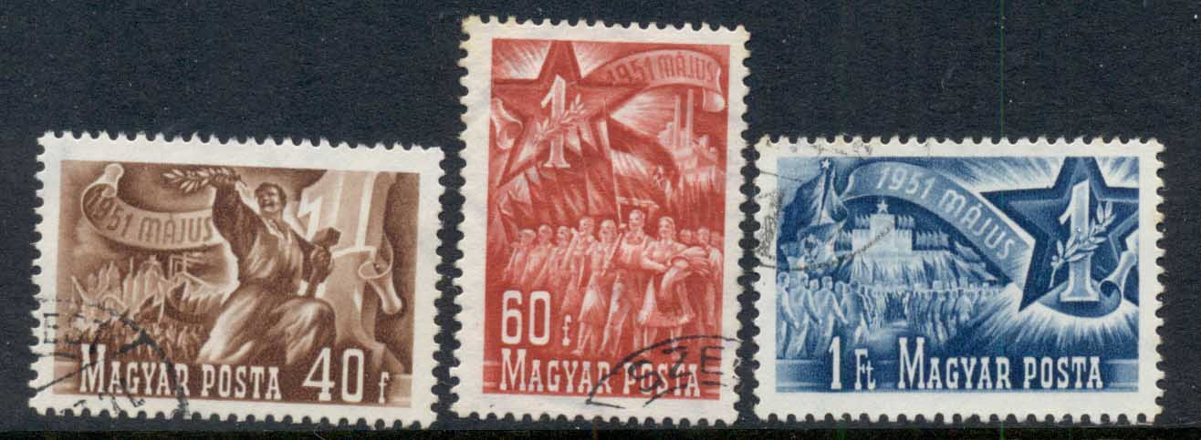 Hungary 1951 Labour Day FU
