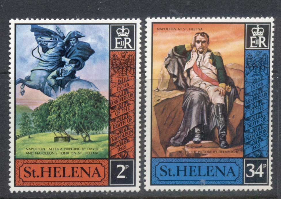St Helena 1971 Death of Napoleon MUH