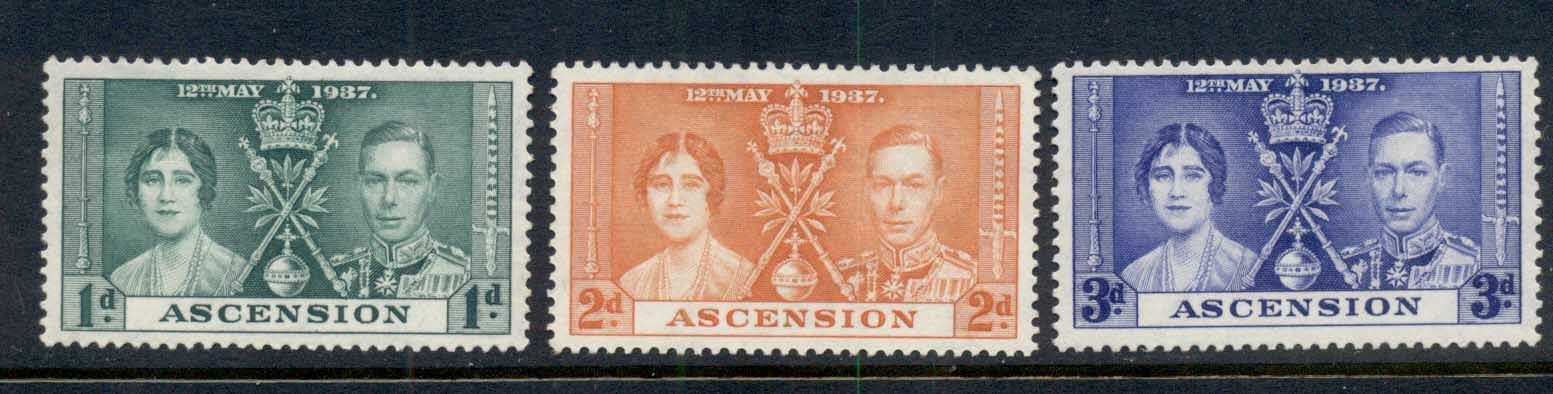Ascension Is 1937 Coronation MNG
