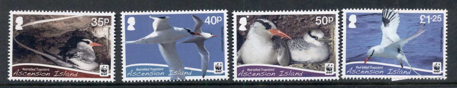 Ascension Is 2011 WWF Red Billed Tropicbird MUH