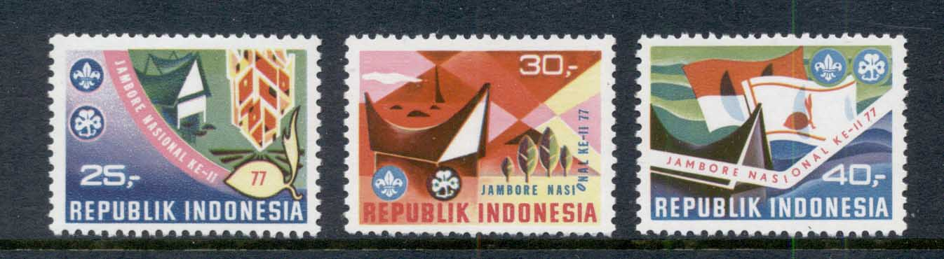 Indonesia 1977 National Scout Jamboree MUH