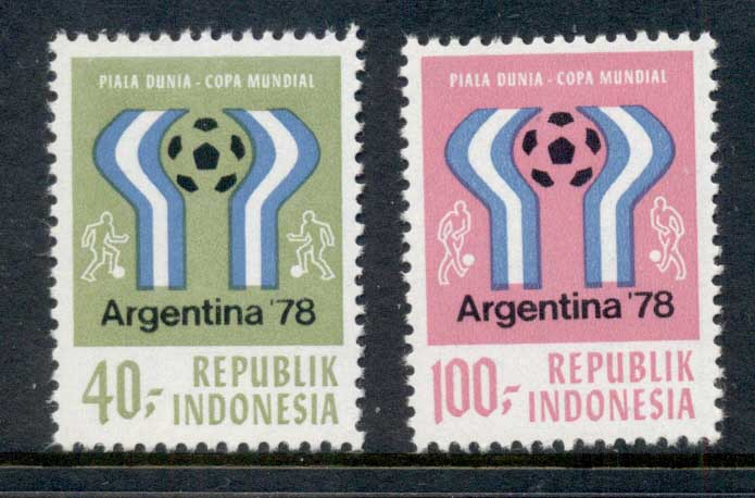 Indonesia 1978 World Cup Soccer Argentina Muh