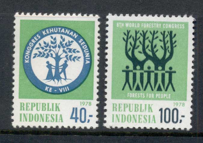 Indonesia 1978 World Forestry Congress MUH