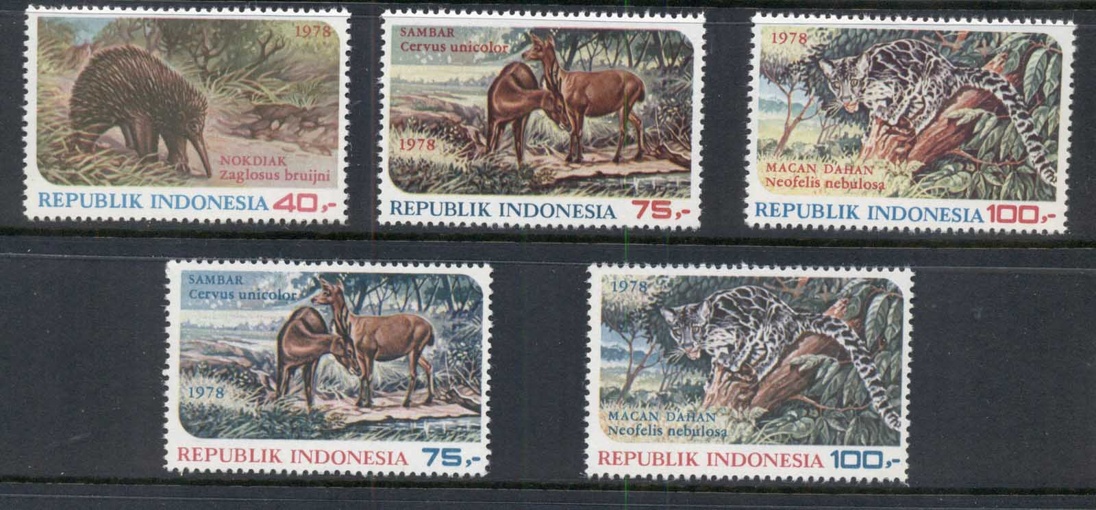 Indonesia 1978 Wildlife Protection MUH