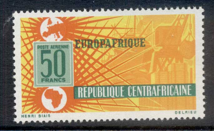 Central African Republic 1964 Europafrica MUH
