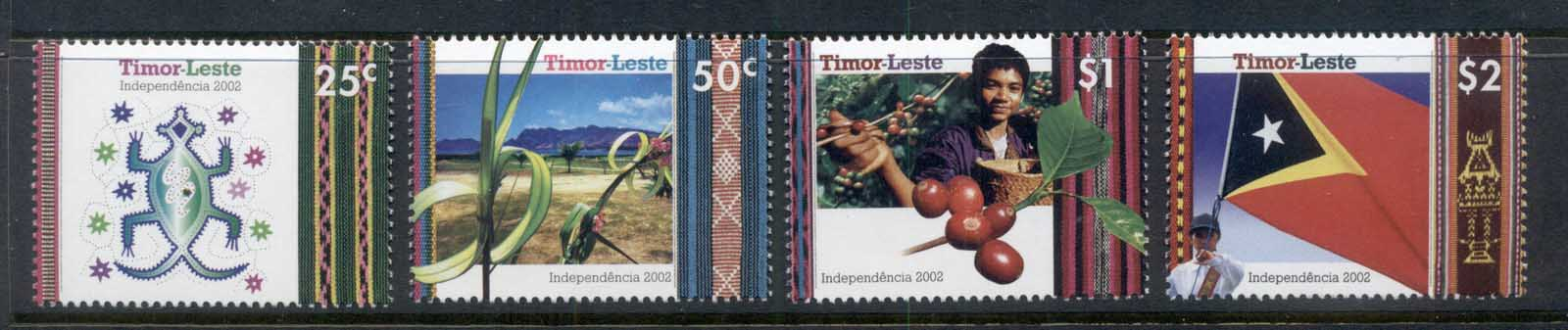 Timor East 2002 Independence MUH