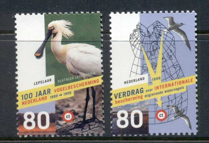 Netherlands 1999 Protection of Birds MUH