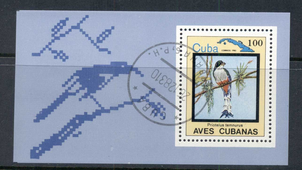 Caribbean Is 1983 Brds , Prioteus temnurus MS CTO