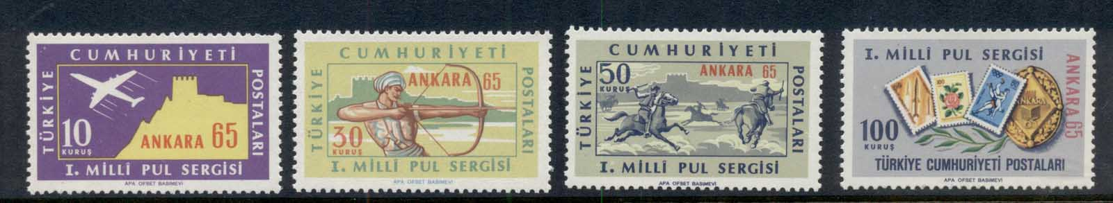 Turkey 1965 Postage Stamp Ex. MUH
