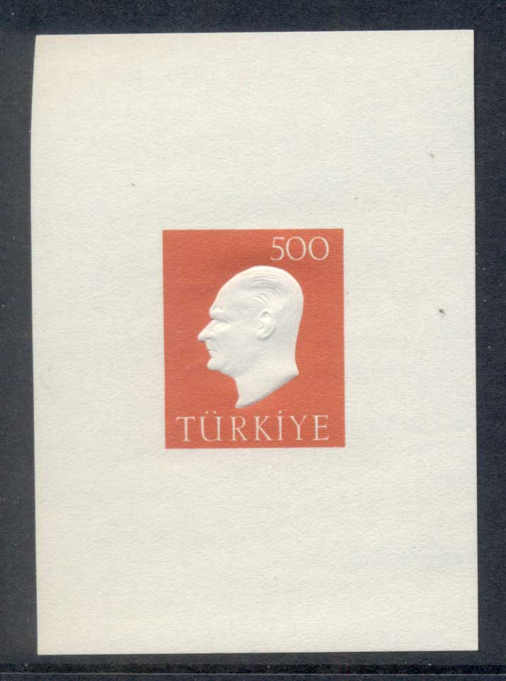 Turkey 1959 kemal Ataturk MS MUH