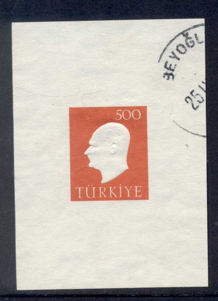 Turkey 1959 kemal Ataturk MS FU