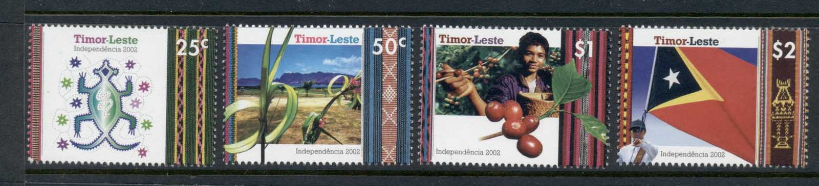 Timor Leste 2002 Independence MUH