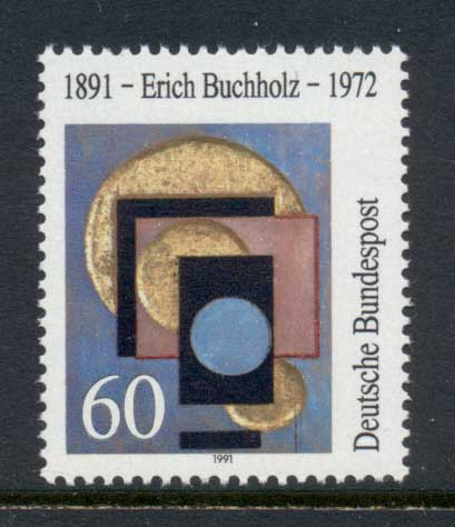 Germany 1991 Art, Erich Bucholtz MUH