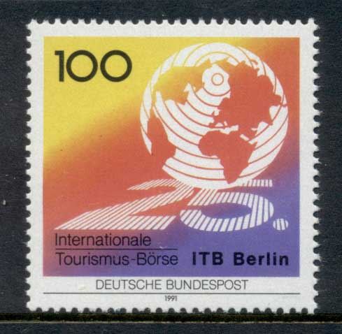 Germany 1991 Tourism Exchange MUH