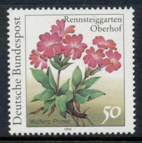 Germany 1991 Flowers 50pf MUH