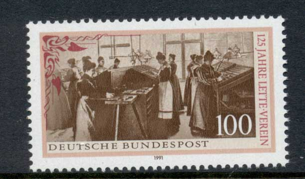 Germany 1991 Lette Foundation MUH
