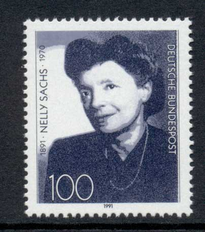 Germany 1991 Nelly Sachs MUH