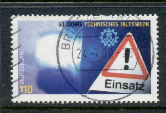 Germany 2000 Federal Disaster relief Org. FU