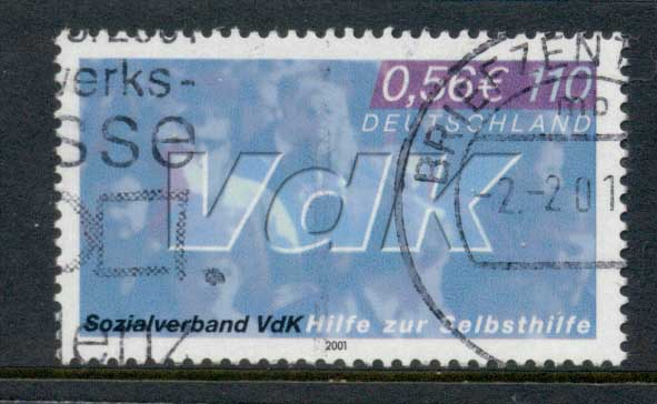 Germany 2000 Disabled War Veterans FU