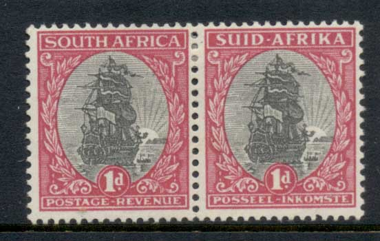 South Africa 1933-54 Jan van Riebeck's Ship, Drommedius pr MLH
