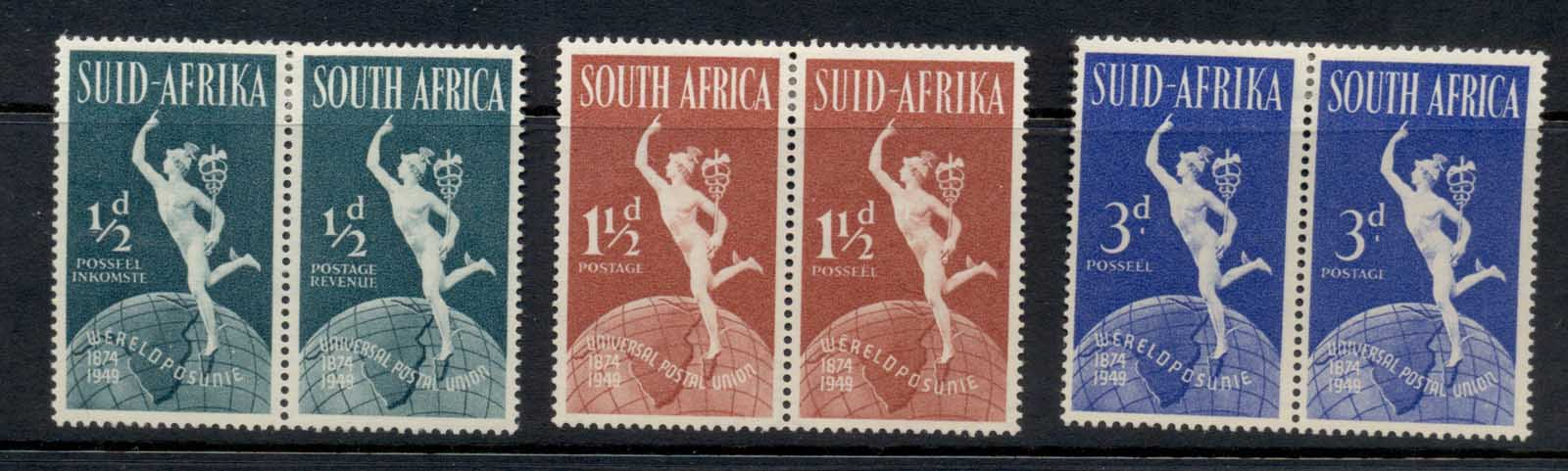 South Africa 1949 UPU 75th Anniv. MLH