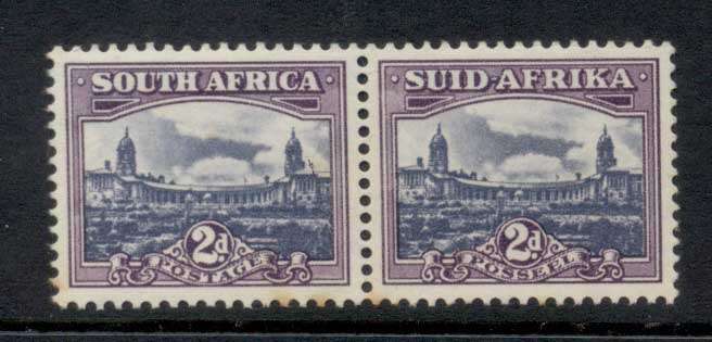 South Africa 1950 Union Buildings 2d (toned) MLH