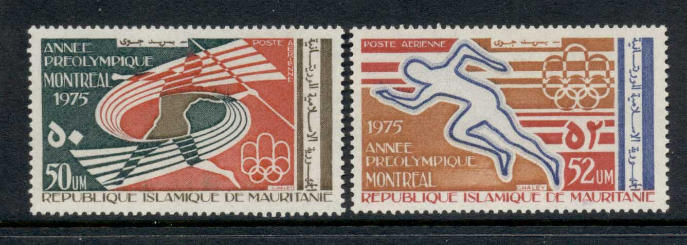 Mauritania 1975 Pre Olympic Year MLH