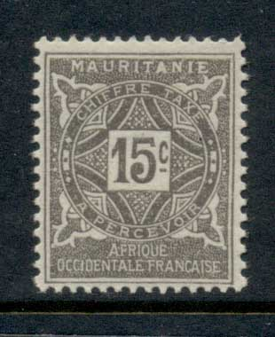 Mauritania 1914 Postage Dues 15c MLH