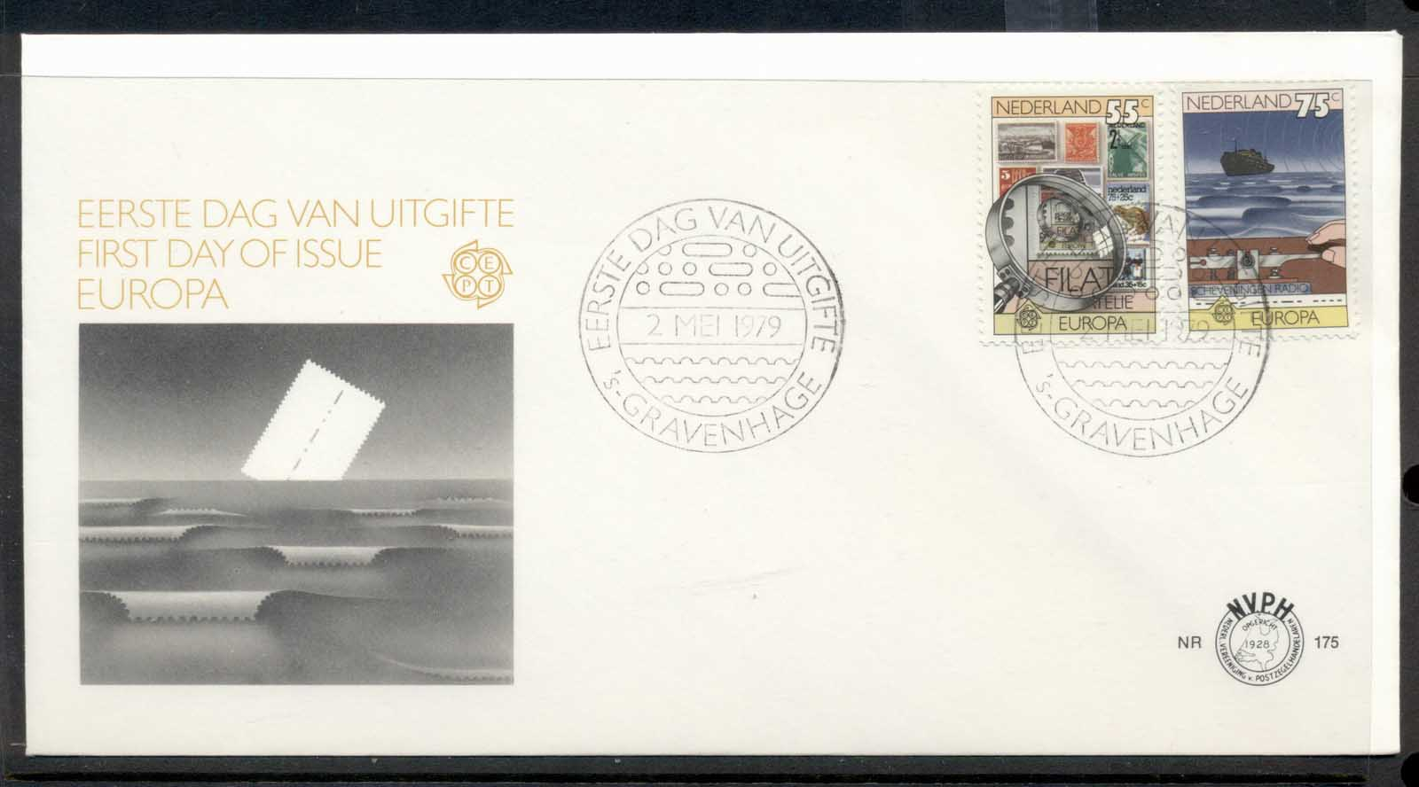 Nederland 1979 Europa Communications FDC