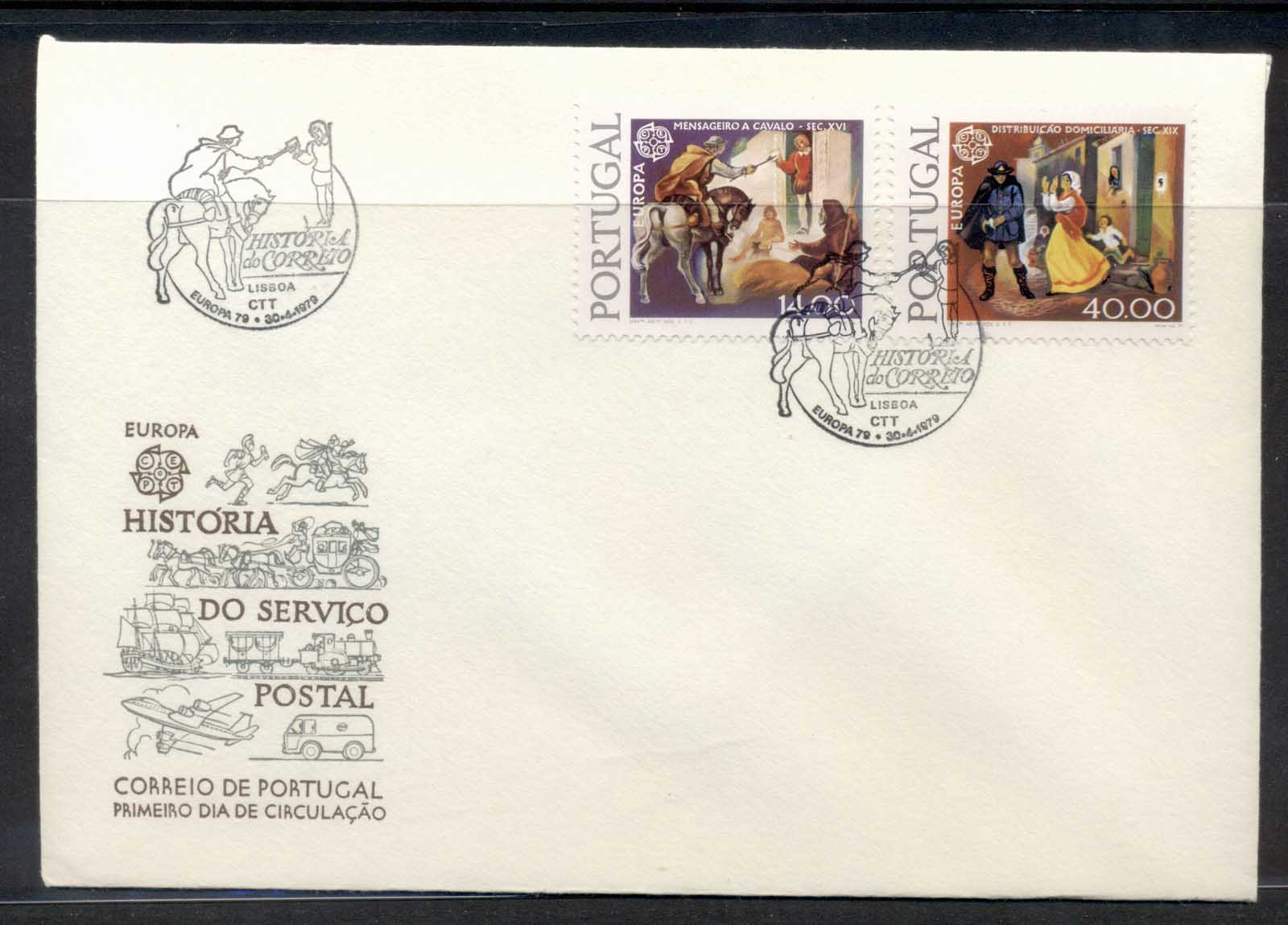 Portugal 1979 Europa Communications FDC