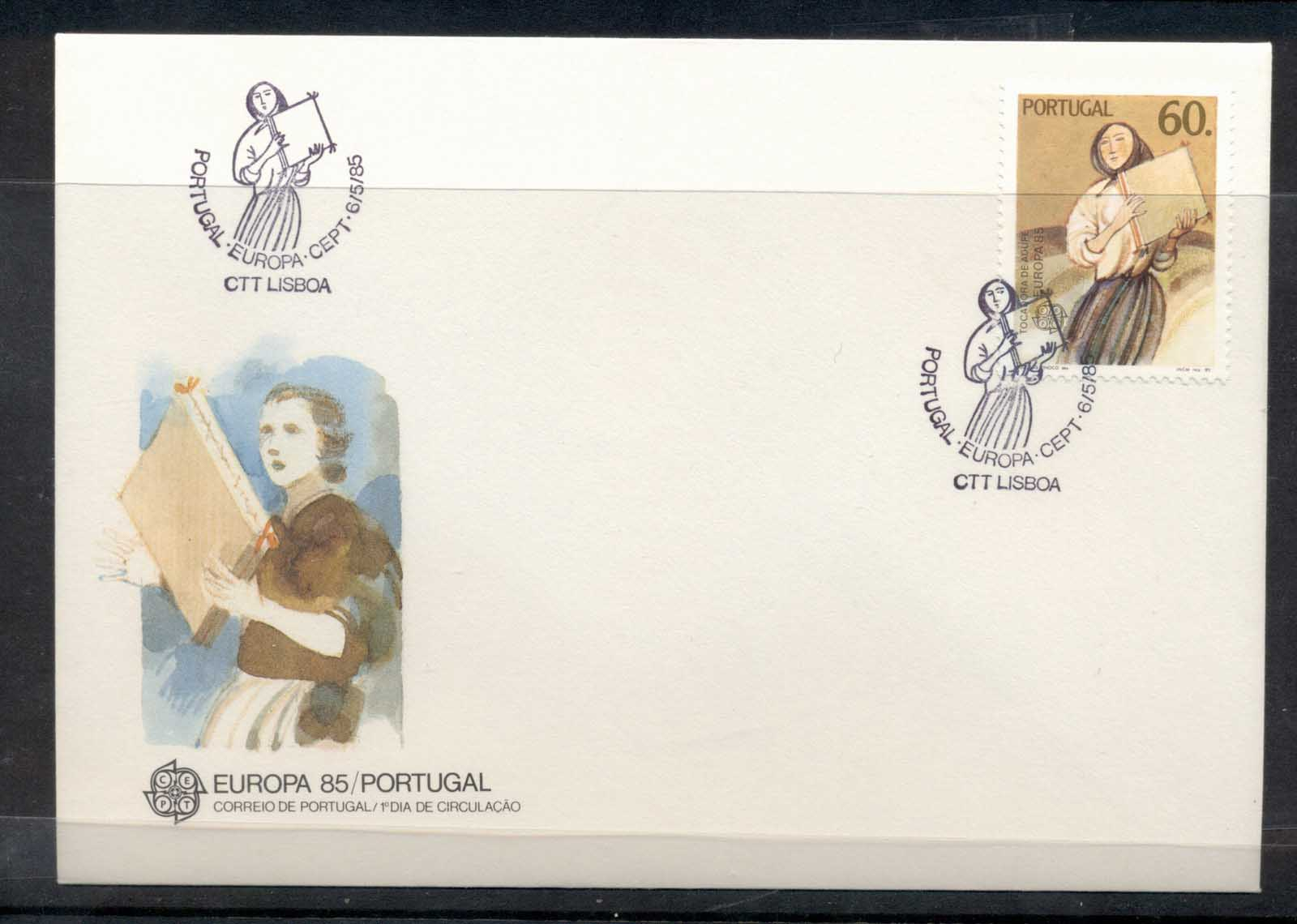 Portugal 1985 Europa Music Year FDC