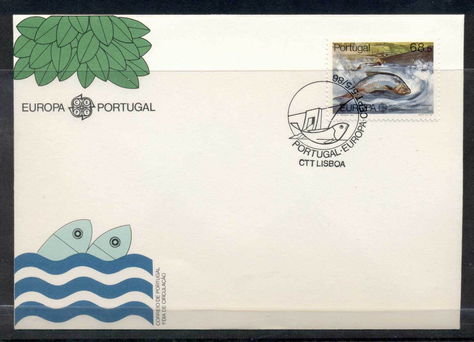 Portugal 1986 Europa Environment FDC