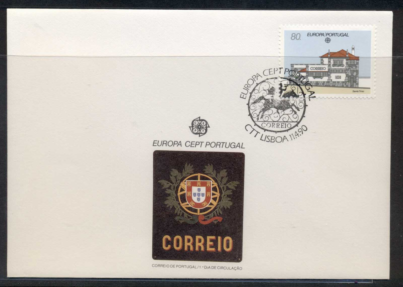 Portugal 1990 Europa Post Offices FDC