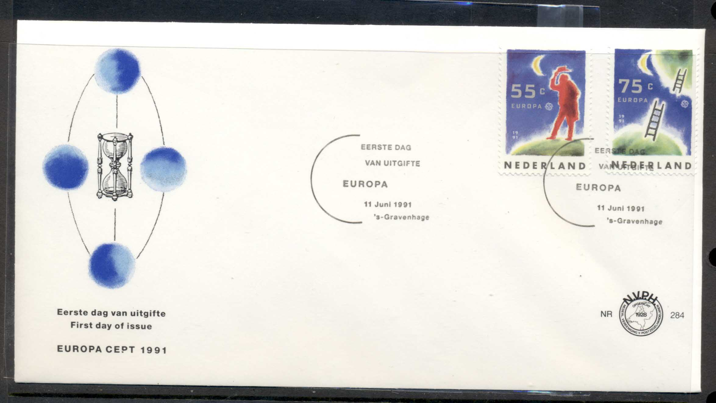 Nederland 1991 Europa Man in Space FDC